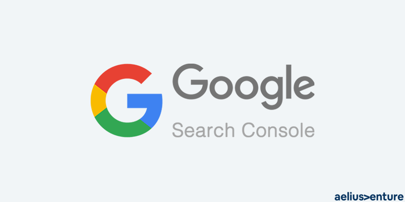google search console with logo
