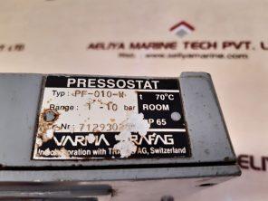 VARMA TRAFAG PF-010-W PRESSURE SWITCH 1-10 BAR