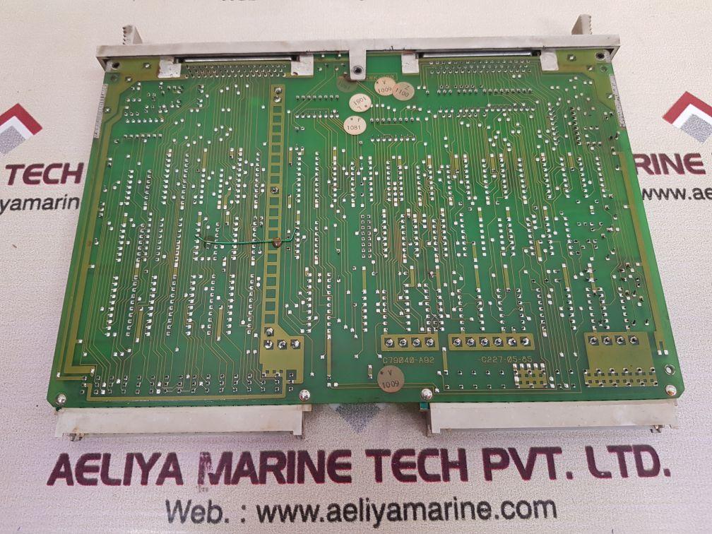 SIEMENS SIMATIC 6ES5301-3AB13 PCB CARD