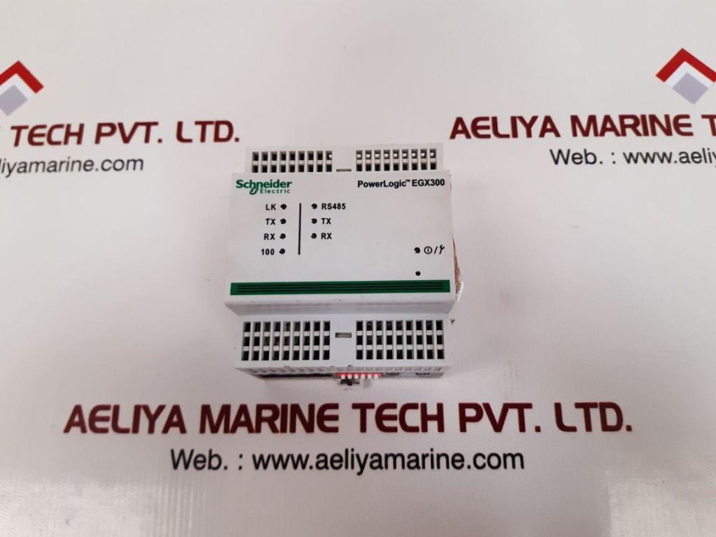 SCHNEIDER ELECTRIC EGX300 POWER LOGIC MODULE