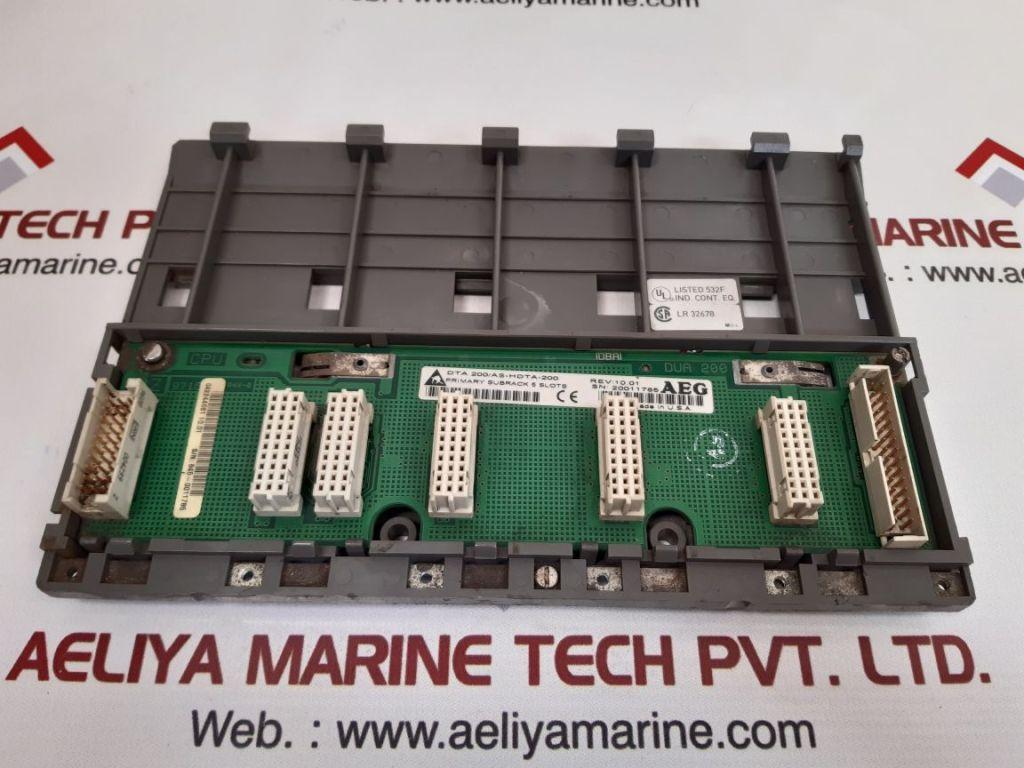 AEG DTA 200/AS-HDTA-200 PRIMARY SUBRACK 5 SLOTS