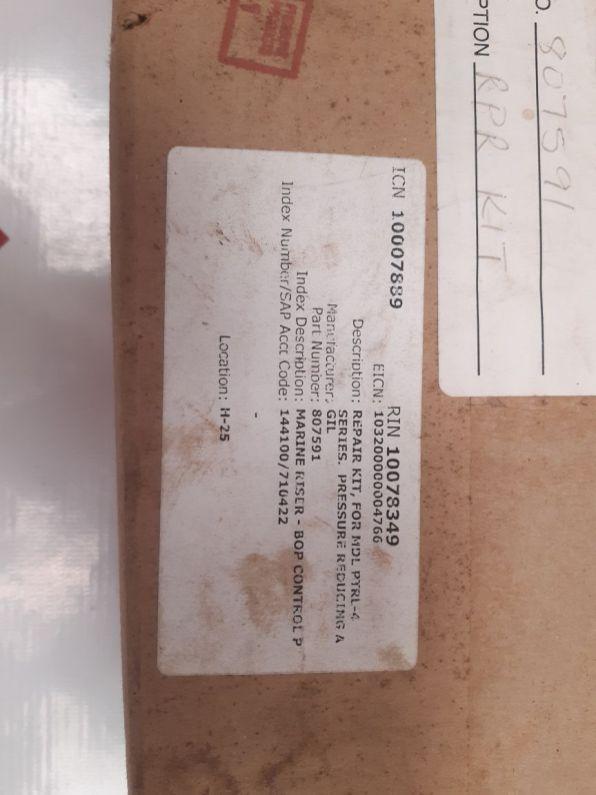 REPAIR KIT GIL 807591