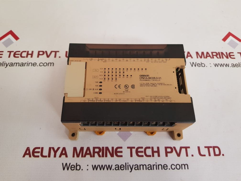 OMRON CPM1A-30CDR-D-V1 PROGRAMMABLE CONTROLLER