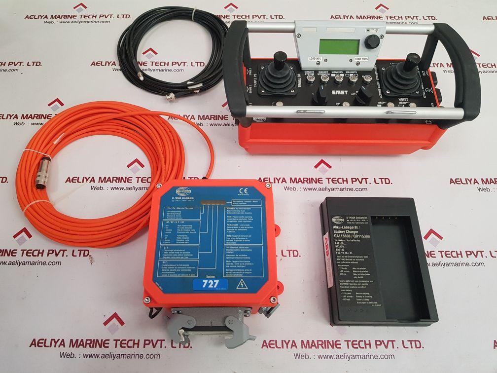 HBC-RADIOMATIC FSE 727 RADIOBUS+SPECTRUM 3 HBC REMOTE CONTROL