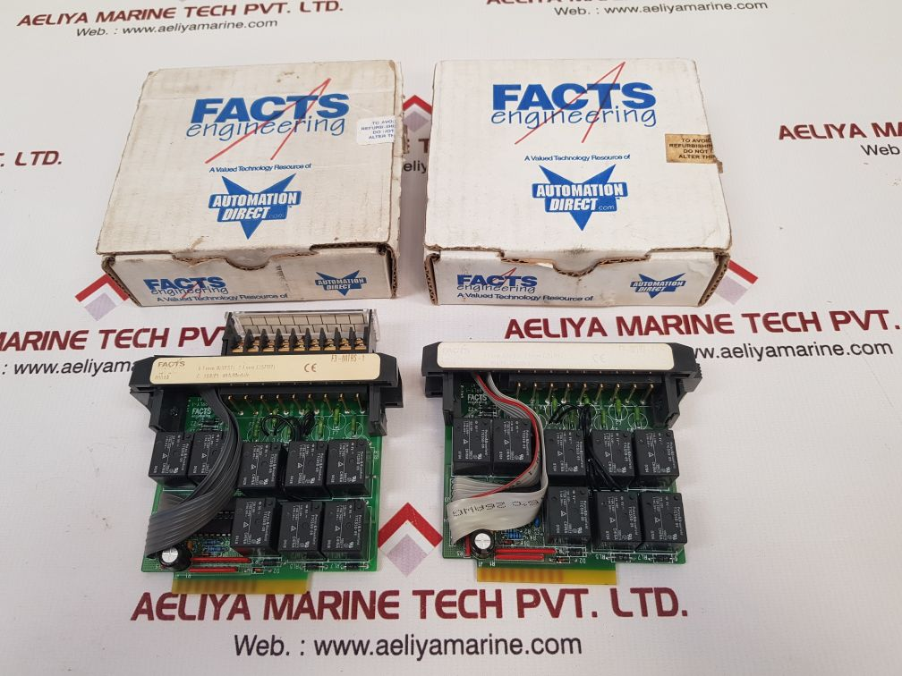 FACTS ENGINEERING F3-08TRS-1 RELAY OUTPUT MODULE