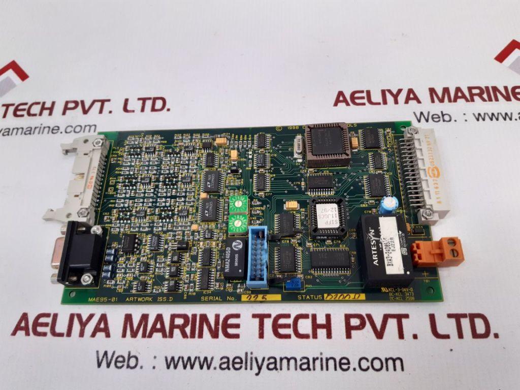 CEGELEC MAE95-01 PCB CARD