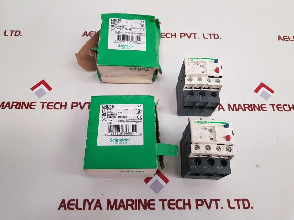 TELEMECANIQUE SCHNEIDER ELECTRIC TESYS LRD16 THERMAL OVERLOAD RELAY HRB15462 01