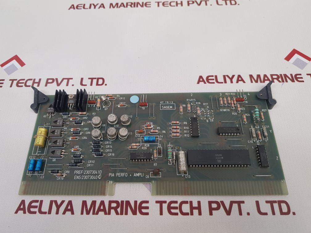 SAGEM 23073043D PCB CARD