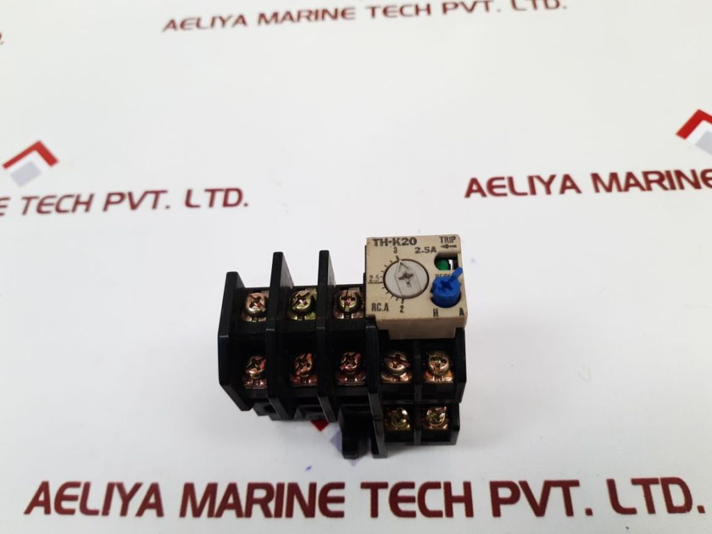 MITSUBISHI ELECTRIC TH-K20 THERMAL OVERLOAD RELAY 2.5A