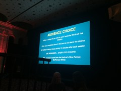 Audience Choice - taken by Amy Loughlin