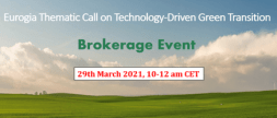 Eurogia Thematic Call Brokerage Event