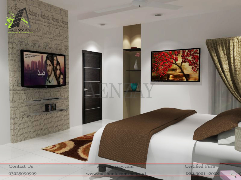 Software House Guest Room Designed By AenZay Aenzay