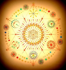 Architecture of Inner Peace Mandala by Mark Golding
