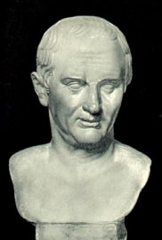 Bust of Cicero- Prado Gallery at Madrid