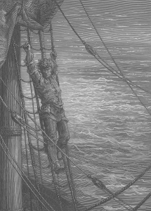 Illustration by Gustav Dore for Coleridge's Rime of the Ancient Mariner
