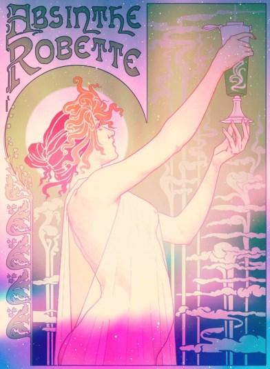 absinthe_robette_poster_by_caioneach (1)
