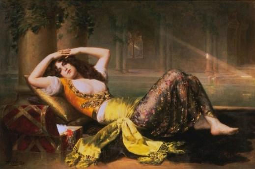 Odalisque, Adolphe Weiz