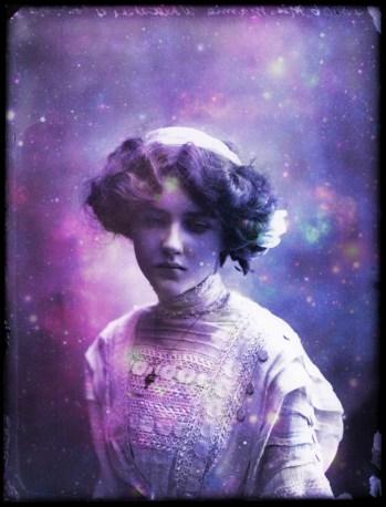 Mamie Whittaker by Bassano (1910)