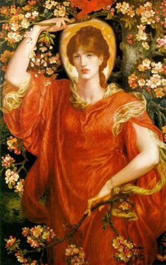 A Vision of Fiametta by Dante Gabriel Rossetti (1878)