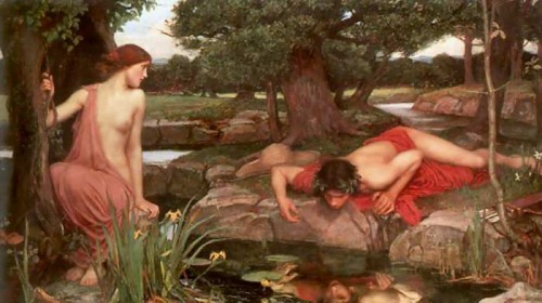 Echo and Narcissus by John William Waterhouse