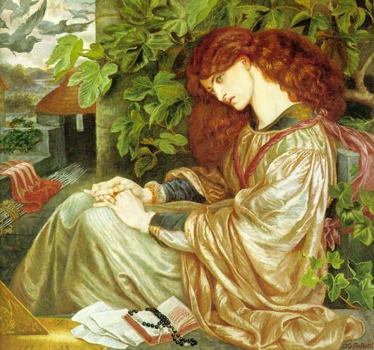 La Pia de' Tolommei by Dante Gabriel Rossetti