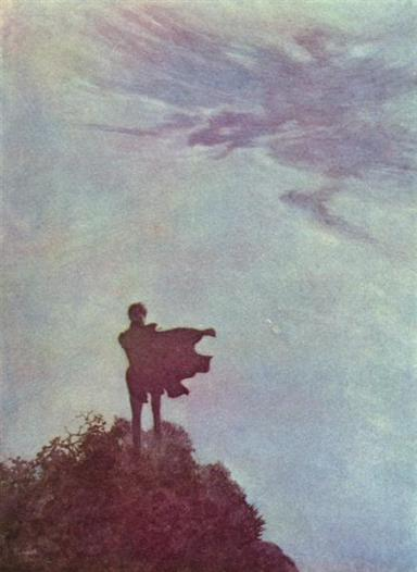 Alone by Edmund Dulac