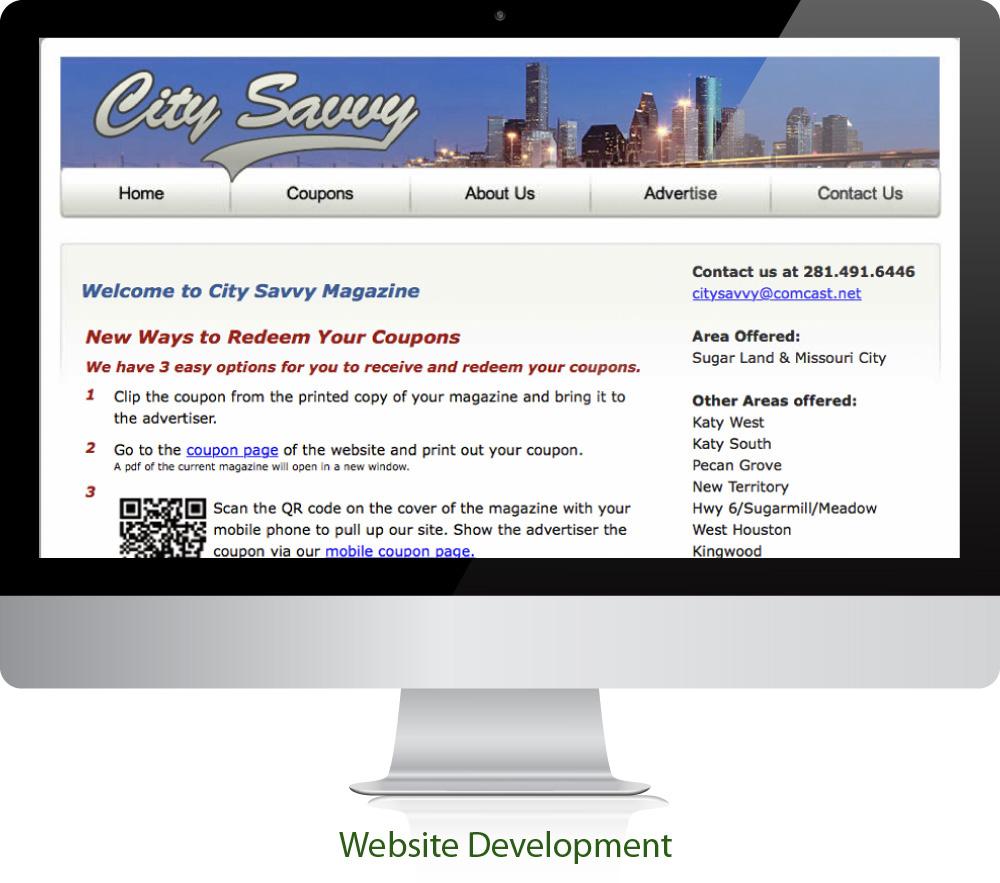 Magazine Website Design Sugar Land Texas 77478