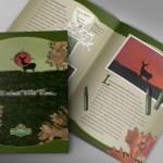 Hunting lodge brochure design