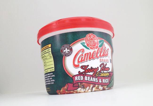 camellia red bean product packaging
