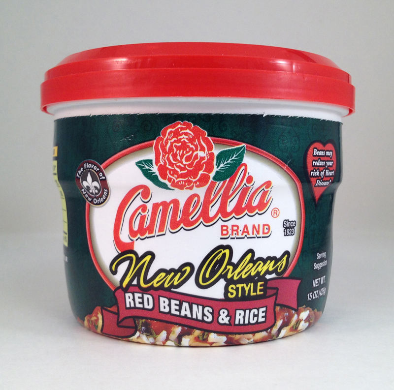 Camellia Product Packaging New Orleans Style Red Beans