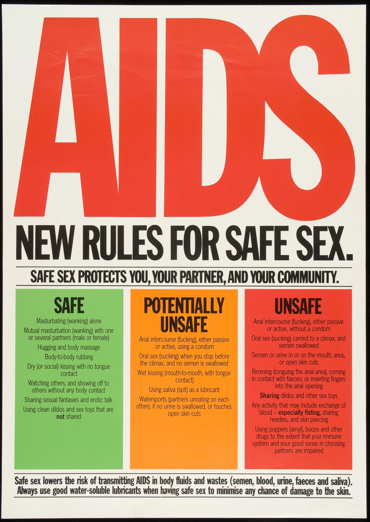 Aids New Rules For Safe
