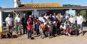 grupo asistente a jornadas de la juventud en extremadura
