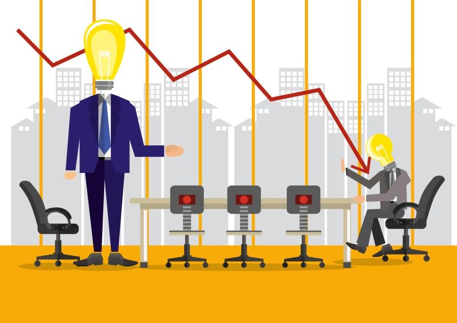 Company's deteriorating finances
