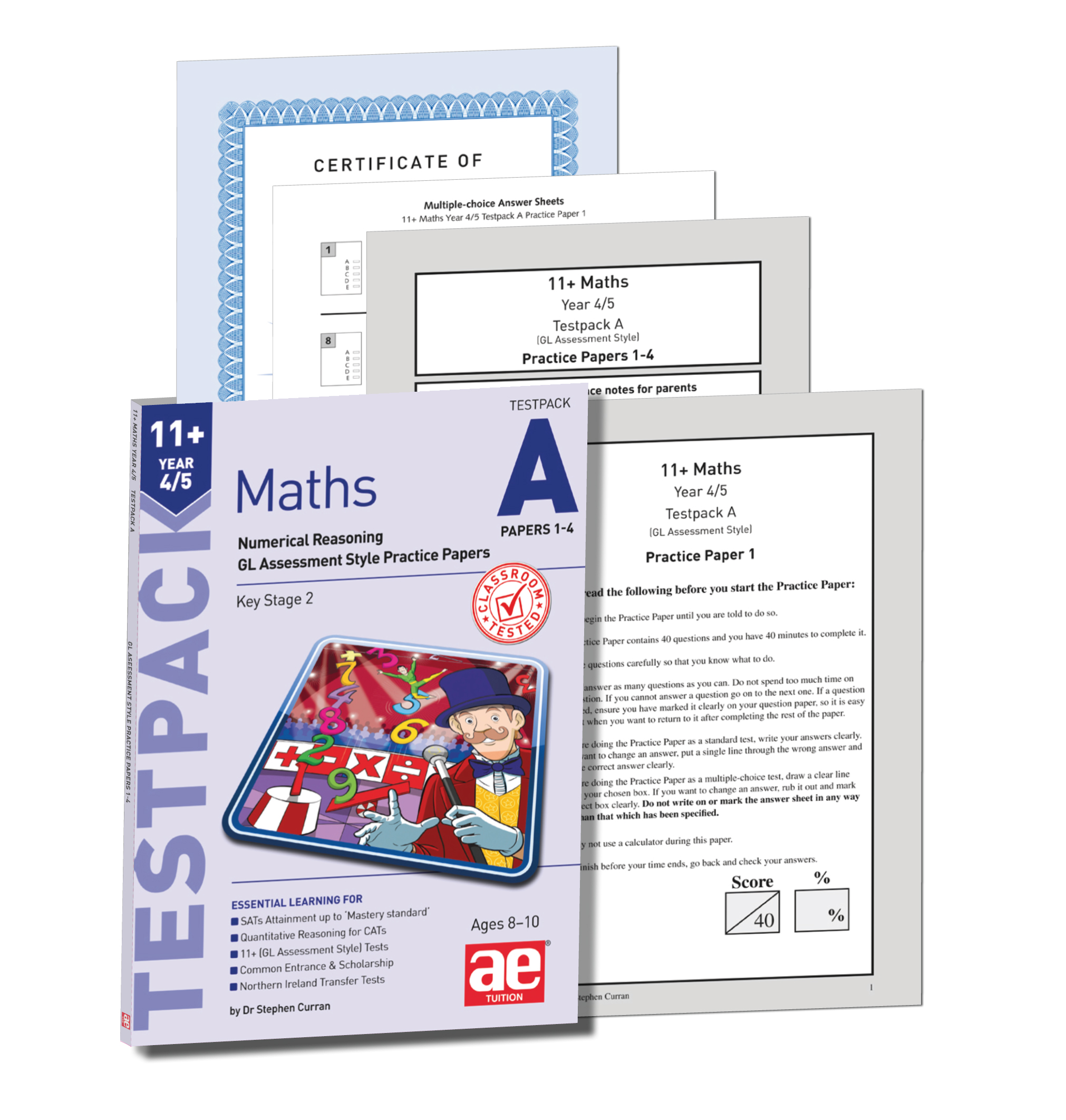 11 Maths Year 4 5 Testpack A Papers 1 4