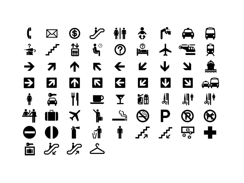 A Sampling Of The Symbols Created By The U S Department