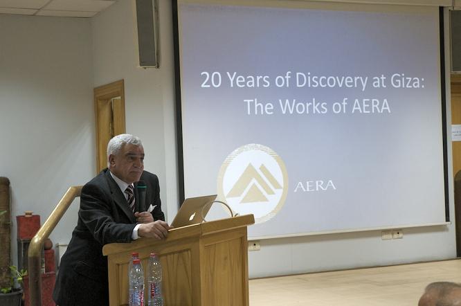 Dr. Zahi Hawass talks about the AERA/ARCE Field School.
