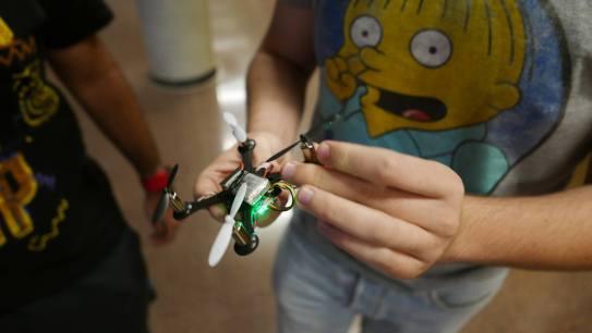drone educativo de aprendizaje de aeracoop