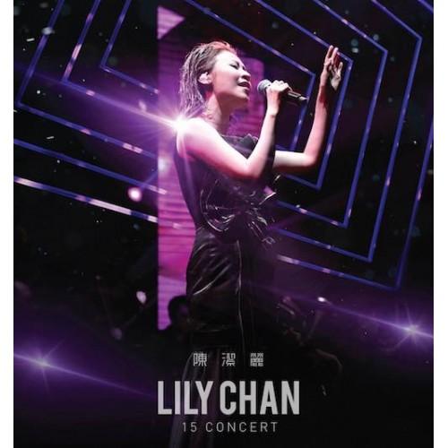 Lily Chan 陳潔麗 15 Concert 2-CD+DVD