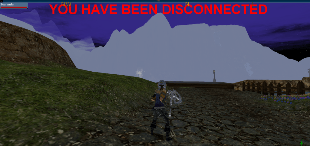 """""""You Have Been Disconnected"""""""