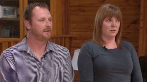 Brother and sister whose home was illegally invaded by violent police officers.