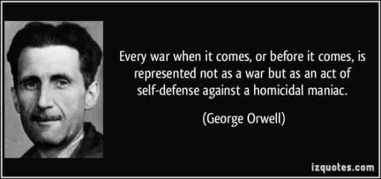 Orwell on war