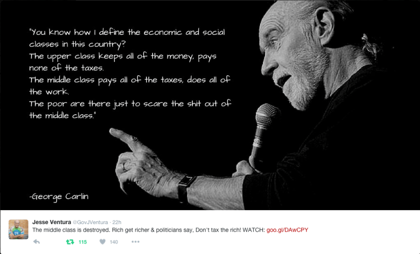 Carlin Quote Re: Class-ism in the USA.