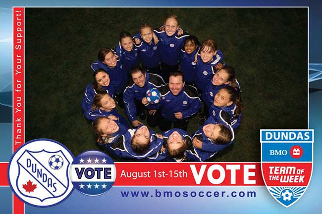 2011 BMO Team of the Week