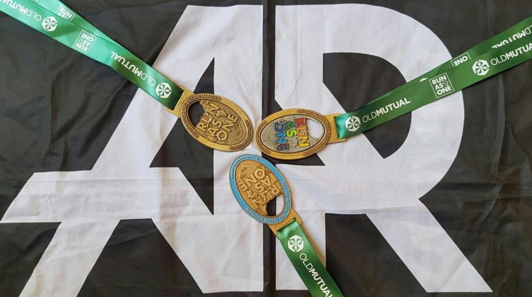 Two Oceans Marathon Medals