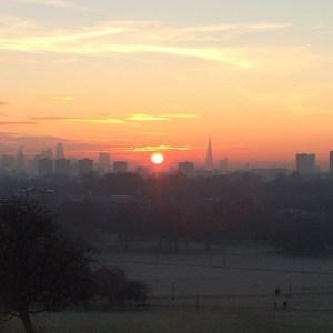 Frühaufsteher sehen den Sonnenaufgang