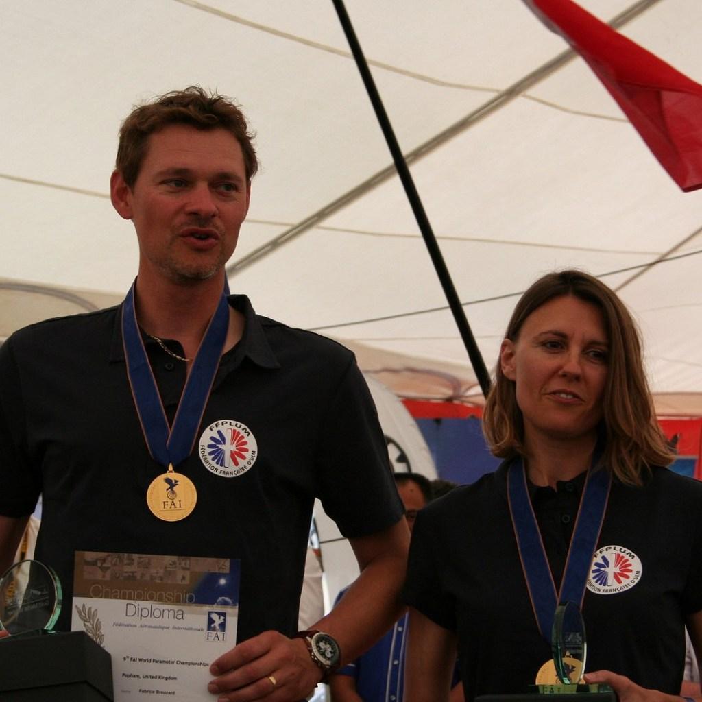 champions du monde paramoteur
