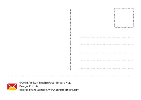 Empire Flag Backside