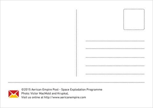 Space Explodation Programme Backside
