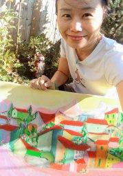 Aeris and her Artwork