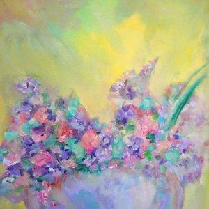 Violet Vase Painting